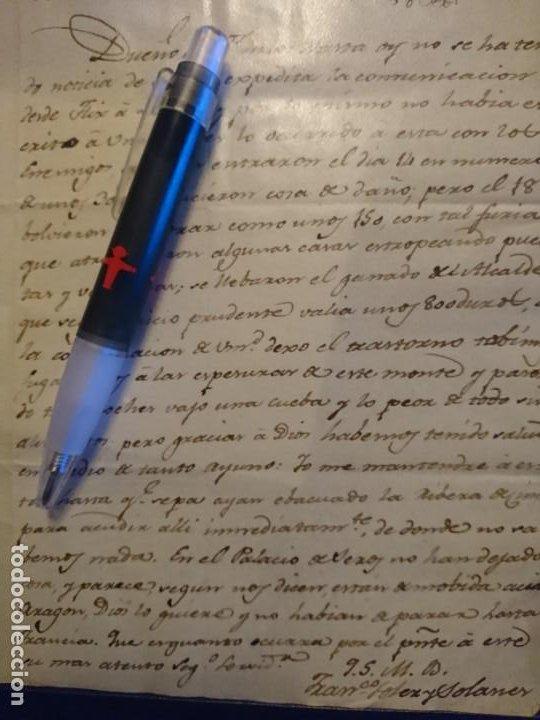 Militaria: ARCHIVO CORRESPONDENCIA CATALUÑA GUERRA DE LA INDEPENDENCIA - Foto 22 - 187521672