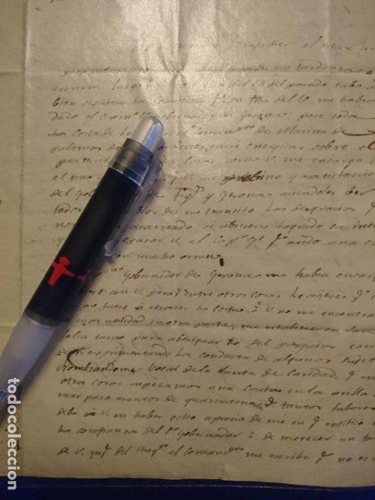 Militaria: ARCHIVO CORRESPONDENCIA CATALUÑA GUERRA DE LA INDEPENDENCIA - Foto 31 - 187521672