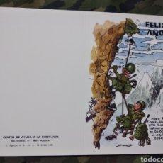 Militaria: POSTAL DE NAVIDAD MILITARES. Lote 188571508