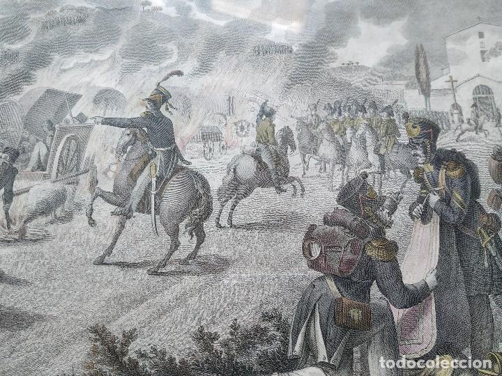 Militaria: GUERRA INDEPENDENCIA GRABADO . HORROROSA ESCENA CERCA DE CALELLA 1808. COLOREADO DE EPOCA BARCELONA - Foto 5 - 188832592