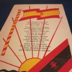 Militaria: CARA AL SOL PRENSA Y PROPAGANDA F E DE LAS JONS EL IDEAL GALLEGO LA CORUÑA. Lote 189382363
