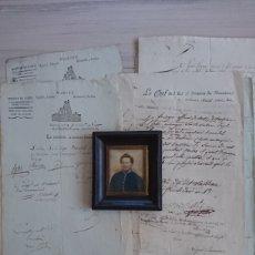 Militaria: COMBATE DE TRAFALGAR 1805 - DOCUMENTACIÓN DE UN CIRUJANO FRANCÉS. Lote 189412011