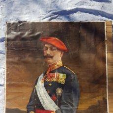 Militaria: ANTIGUA LAMINA DE OFICIAL CARLISTA VALENCIA ZXY. Lote 189676708