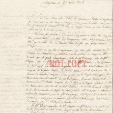 Militaria: GUERRA DE LA INDEPENDENCIA EJÉRCITO NAPOLEÓN EN ESPAÑA 1808. Lote 190012117