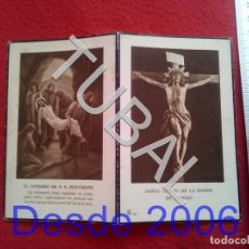 Militaria: TUBAL 1932 RECORDATORIO TENIENTE CORONEL DE INTENDENCIA ESCLAVAS ZARAGOZA 25 GRS B31. Lote 190181326