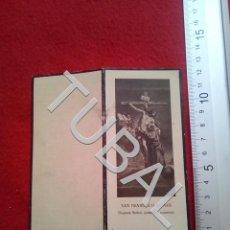 Militaria: TUBAL 1932 RECORDATORIO TENIENTE CORONEL DE INTENDENCIA ESCLAVAS ZARAGOZA 25 GRS B32. Lote 190183160