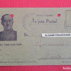 Militaria: TARJETA POSTAL FRANCO - ENERO DEL 42. Lote 190484163