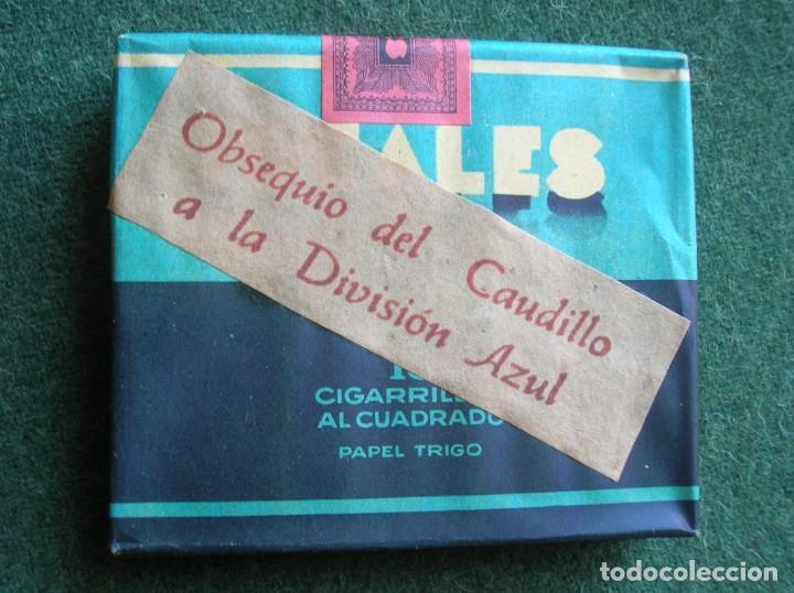 Militaria: OBSEQUIO DEL CAUDILLO A LA DIVISION AZUL. PAQUETE SIN ABRIR MARCA IDEALES. - Foto 6 - 190553087