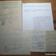 Militaria: PRECIOSO LOTE DE DOCUMENTOS DE UN ¿MAQUIS? ACUSADO DE REBELIÓN MILITAR POSTERIOR (POSTGUERRA). Lote 190613948
