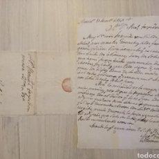 Militaria: EXTREMADURA GUERRA DE LA INDEPENDENCIA - BOTÓN Y DOS BUENAS CARTAS. Lote 191115817