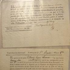 Militaria: VALLADOLID, GUERRA DE LA INDEPENDENCIA. Lote 191118437