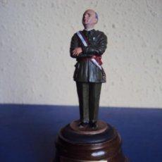 Militaria: (PUB-200157)FIGURA DE PLOMO DE FRANCISCO FRANCO - CAUDILLO DE ESPAÑA. Lote 191877745