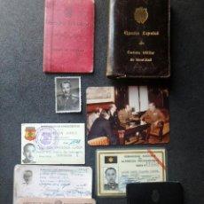 Militaria: (JX-200191)CONJUNTO DE DOCUMENTOS DIVISIONARIO - DIVISION AZUL. Lote 191918848