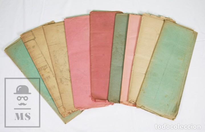 Militaria: 9 Carteles / Noticiario Ilustrado de 1ª Guerra del Rif, 1893-94 / Sucesos de Melilla - Los Tiroleses - Foto 56 - 192888580