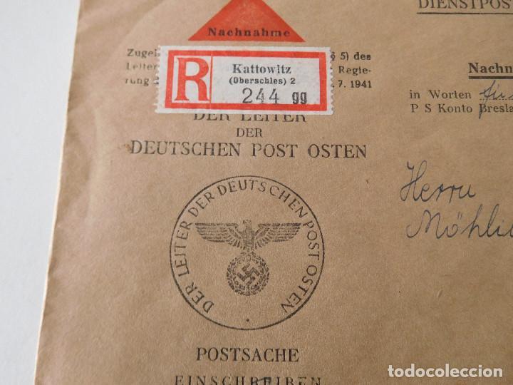 Militaria: Sobre original de la Alemania nazi - Foto 2 - 194107011