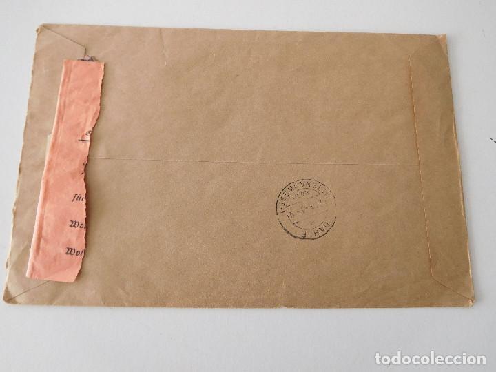 Militaria: Sobre original de la Alemania nazi - Foto 3 - 194107011