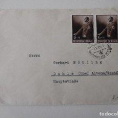 Militaria: SOBRE ORIGINAL DE LA ALEMANIA NAZI. Lote 194107595