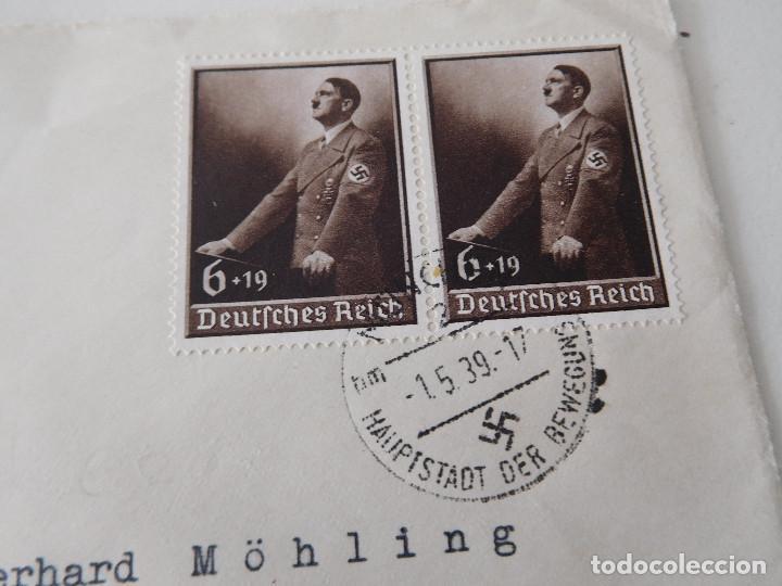 Militaria: Sobre original de la Alemania nazi - Foto 2 - 194107595