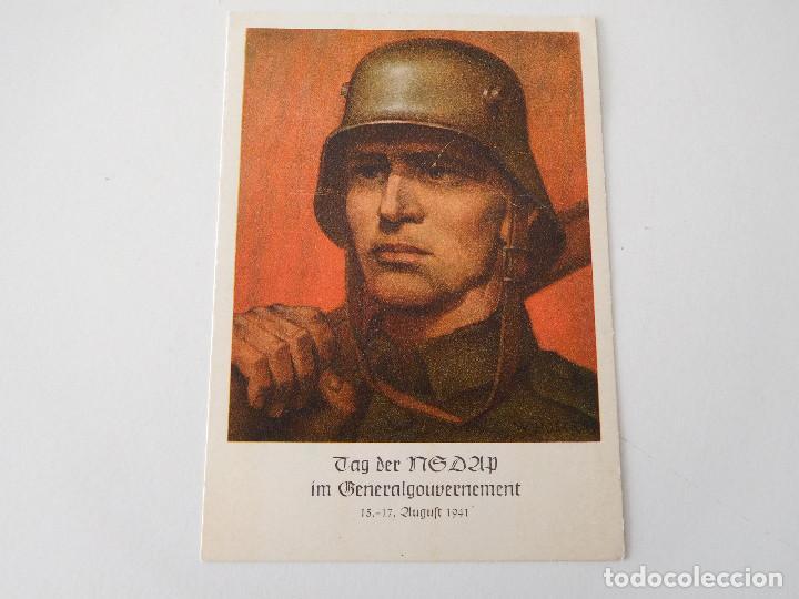 POSTAL ORIGINAL DE LA ALEMANIA NAZI NSDAP (Militar - Propaganda y Documentos)