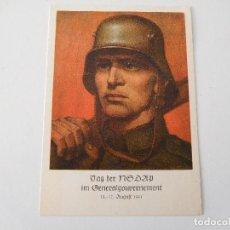 Militaria: POSTAL ORIGINAL DE LA ALEMANIA NAZI NSDAP. Lote 194107981