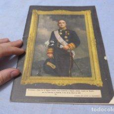 Militaria: * ANTIGUO LIBRITO ESQUELA DEL CONDE DE ROSILLO, 1950, ORIGINAL. ZX. Lote 194238250