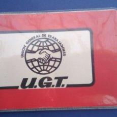Militaria: CARNET , UNIÓN GENERAL DE TRABAJADORES , U G T ,METAL 1977 RIOJA. Lote 194279830