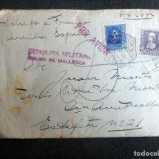 Militaria: (JX-200285)CARTA DEVUELTA,CAÍDO FRENTE DE EXTREMADURA,GUERRA CIVIL,TERCIO NUESTRA SEÑORA MONTSERRAT. Lote 194311701