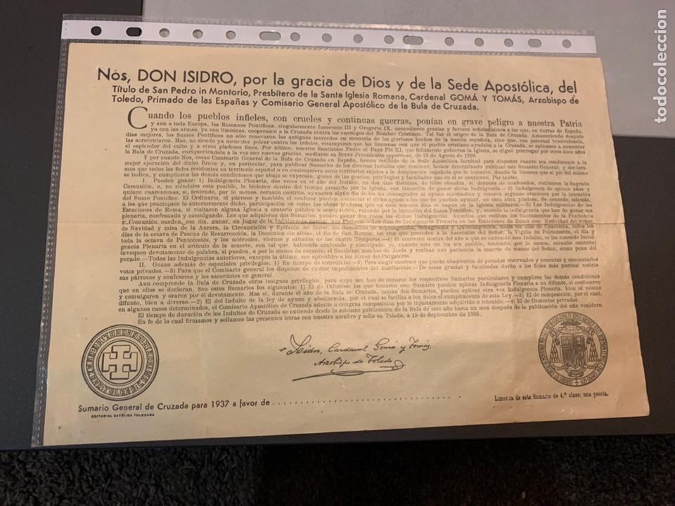 GUERRA CIVIL ( 1937) SUMARIO GENERAL DE CRUZADA BUEN ESTADO (Militar - Propaganda y Documentos)
