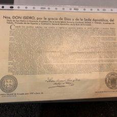 Militaria: GUERRA CIVIL ( 1937) SUMARIO GENERAL DE CRUZADA BUEN ESTADO. Lote 194334518