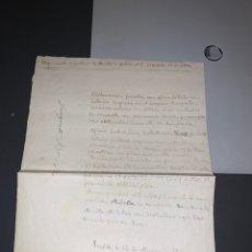 Militaria: DECLARACIÓN JURADA. GUERRA CIVIL REGIMIENTO INFANTERÍA DE MONTAÑA GALICIA 19. 2 BATALLÓN 2 COMPAÑIA. Lote 194335268