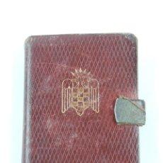 Militaria: BONITA AGENDA DE 1953, MANDOS REVISTA DE LA DELEGACION NACIONAL DEL FRENTE DE JUVENTUDES, EN LAS ÚLT. Lote 194369590
