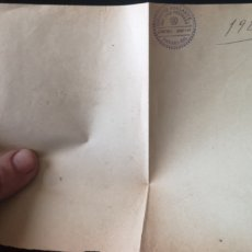 Militaria: DOCUMENTO PORTÁTIL CONCELLO DE SIEMPRE ADELANTE 1929. Lote 194384911