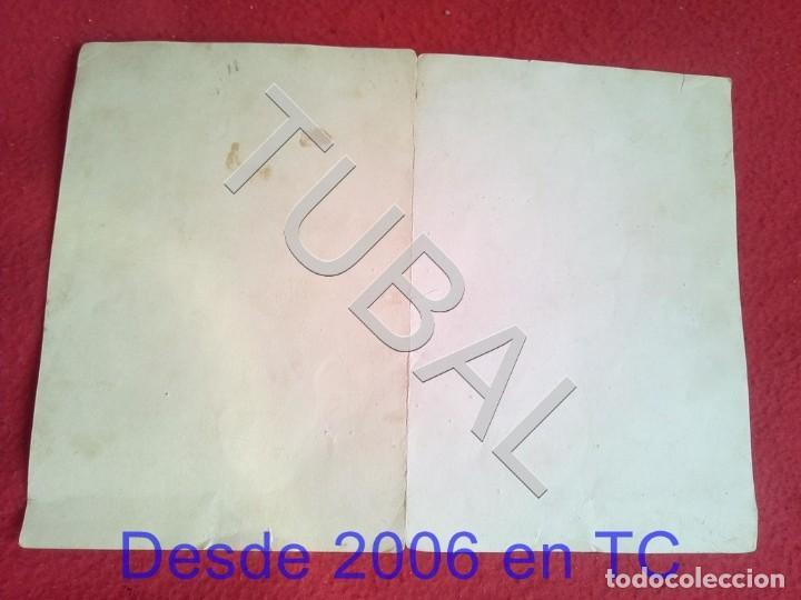 Militaria: TUBAL GENERAL FRANCISCO FRANCO SALGADO ARAUJO CARTA CON FIRMA AUTOGRAFA 1950 100% ORIGINAL B47 - Foto 3 - 194515050
