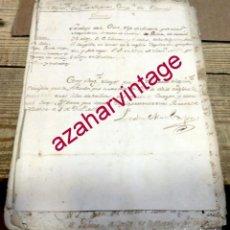 Militaria: 1778, EXPEDIENTE DE UN DESERTOR, 14 PAGINAS. Lote 194652107