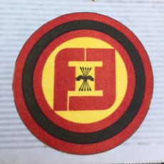 Militaria: EMBLEMA DE TELA O PARCHE ORIGINAL TRANSICIÓN POLÍTICA,FALNGE ESPAÑOLA INDEPENDIENTE,FRANCO,FEI. Lote 194745853