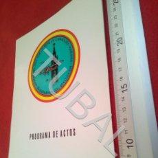Militaria: TUBAL TABLADA SEVILLA 50 ANIVERSARIO VUELO CAMAGUEY HABANA MEXICO 1933 1983 DIPTICO B48. Lote 194768232