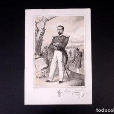 Militaria: MILITAR D. JOAQUÍN RAVENET. BRIGADIER DE INFANTERÍA 1848. Lote 194883538