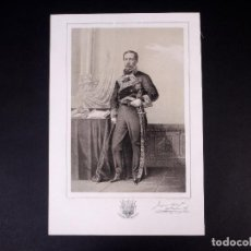 Militaria: MILITAR D. JOAQUÍN RODRÍGUEZ DE VALCARCEL. BRIGADIER DE INFANTERÍA 1849. Lote 194884310
