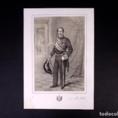 Militaria: MILITAR D. JOSÉ AINAT Y FUNES. MARISCAL DE CAMPO 1846. Lote 194884675