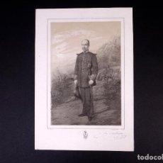 Militaria: MILITAR D. JOSÉ ANTONIO DE QUESADA Y MAESTRO. BRIGADIER DE CABALLERÍA 1851. Lote 194884777