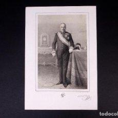 Militaria: MILITAR D. JOSÉ DEL REAL Y CIVERA. BRIGADIER DE INFANTERÍA 1852. Lote 194885071