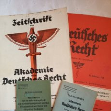 Militaria: LOTE MILITAR EJERCITO ALEMÁN NAZI SEGUNDA GUERRA MUNDIAL.DIVISION AZUL.WEHRMACHT.LUFTWAFFE.UNIFORME.. Lote 194922928