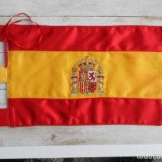 Militaria: BANDERÍN SOBREMESA BANDERA ESPAÑA BORDADO. Lote 195047812