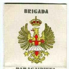 Militaria: BRIGADA PARACAIDISTA FORMATO DIPTICO PROGRAMA DE ACTOS (INTERIOR) REVER. ORACION PARACAIDISTA 1980, . Lote 195155373