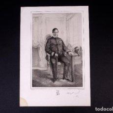 Militaria: MILITAR D. PABLO DE CASAMAYOR. BRIGADIER DE INFANTERÍA 1809. Lote 195206921
