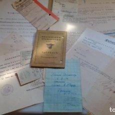 Militaria: SOLDBUCH VOLKSSTURM DESNAZIFICADO +DOCUMENTOS DEL MISMO SOLDADO. Lote 195229832