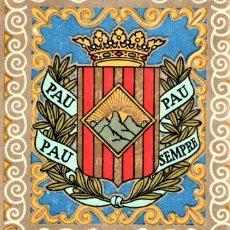 Militaria: SOMATEN ARMADO DE CATALUÑA,BARCELONA,ORDEN AÑO 1921 PARA ENTREGA DE BANDERAS,EPOCA REY ALFONSO XIII. Lote 195295602