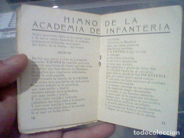 Militaria: LEGION CREDO E HIMNOS LEGIONARIOS LIBRITO MUY SOBADO 28 PAG 11 X 8 CMS - Foto 7 - 195303467