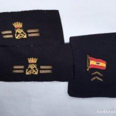 Militaria: BORDADO,ESPECTACULAR,MARINA O ARMADA ESPAÑOLA,FRANCO,FALANGE,BANDERA ESPAÑOLA. Lote 195362981