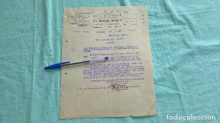 Militaria: Arriba España..segundo año trinfal..1938..Taller Vda,Ricardo Aznar..Tarazona..Aragon.. - Foto 2 - 195376615